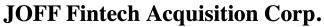 Joff Fintech Acquisition Corp ECM-Feb21