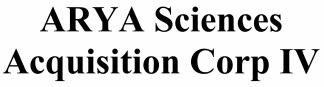 ARYA Sciences Acquisition ECM- Feb21