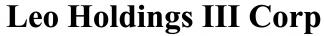 Leo Holdings III Corp ECM- Feb21