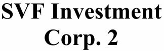 SVF Investment Corp 2 ECM- Mar21