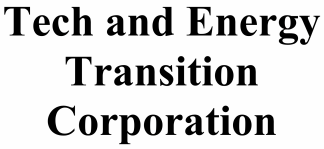 Tech and Energy Transition ECM- Mar21