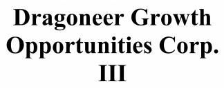 Dragoneer Growth Opportunities III Corp ECM- Mar21