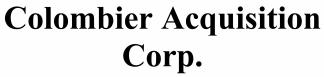 Colombier Acquisition Corp ECM- Jun21