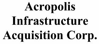 Acropolis Infrastructure Acquisition Corp. ECM- Jul21