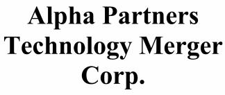 Alpha Partners Technology Merger Corp. ECM- Jul21